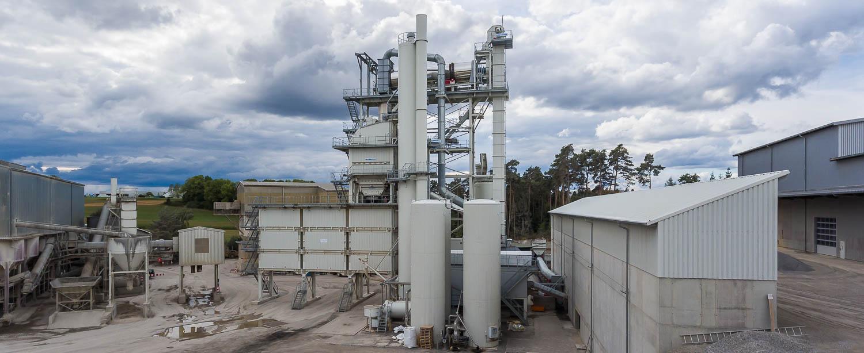 Asphaltmischanlage Schotterwerk Mayer