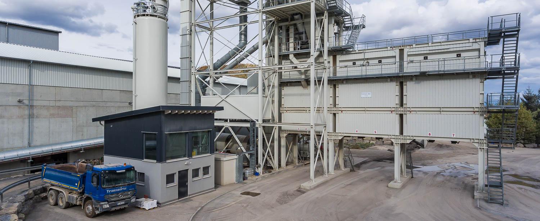 Asphaltmischanlage Schotterwerk Mayer Mötzingen