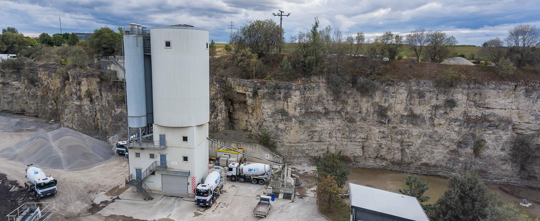 BNS Transportbetongesellschaft TBG Schotterwerk Mayer Anlage
