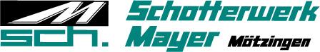 Schotterwerk Mayer Logo