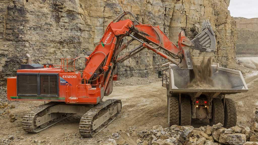 Stellenanzeige Baggerfahrer Rohstoffgewinnung Schotterwerk-Mayer
