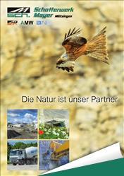 Schotterwerk Mayer Broschüre