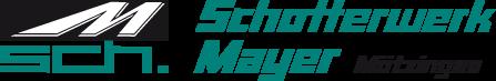 Logo Schotterwerk Mayer BGmbH